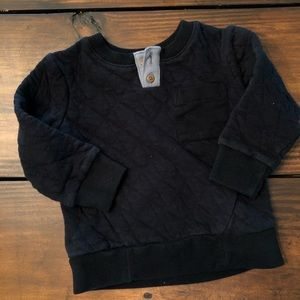 TARGET CAT & JACK BOYS QUILTED PULLOVER 2T